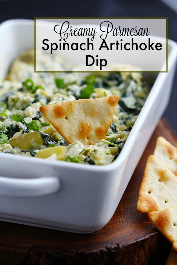 Creamy Parmesan Spinach Artichoke Dip – Rich and creamy dip made ...