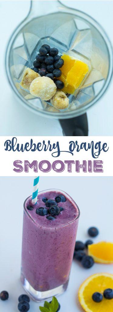 Blueberry Orange Smoothie | gatherforbread.com