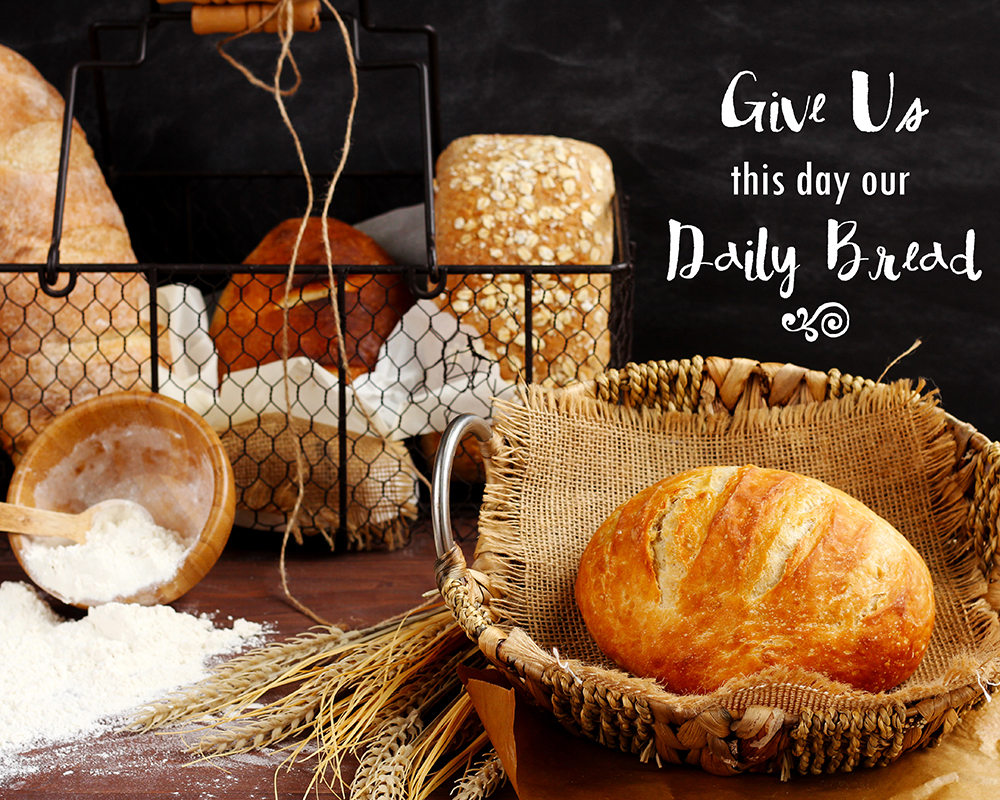 our daily bread essay Browse and read give us this day our daily bread the meaning of lords prayer on affluent christians essay give us this day our daily bread the meaning of.