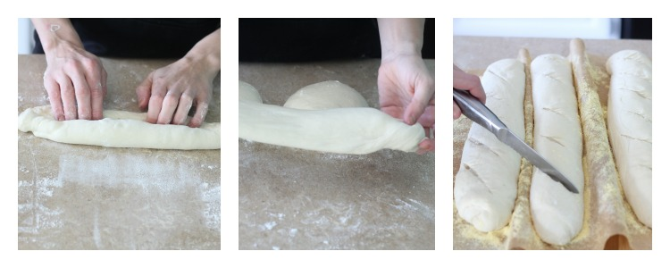 Bread Making Collage