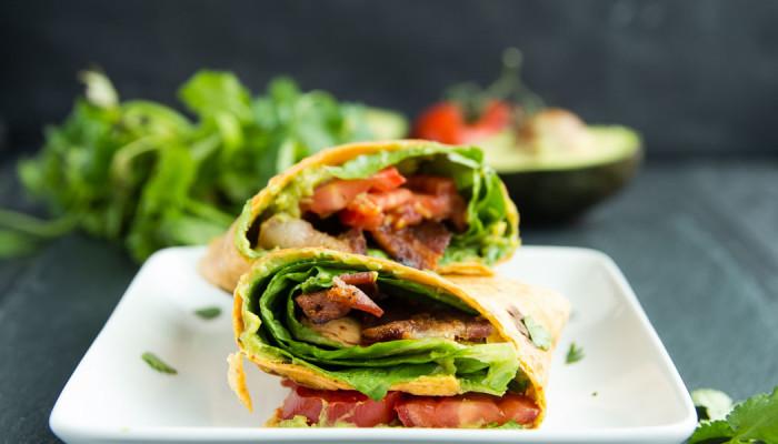 BLT Avocado Wrap