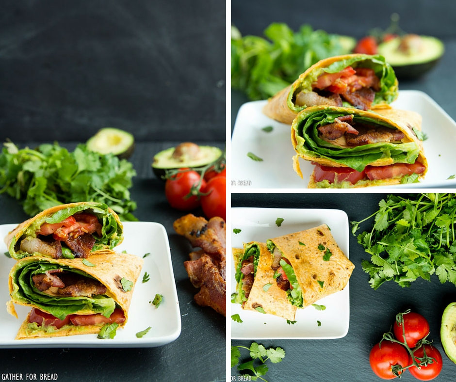 BLT Avocado Wrap
