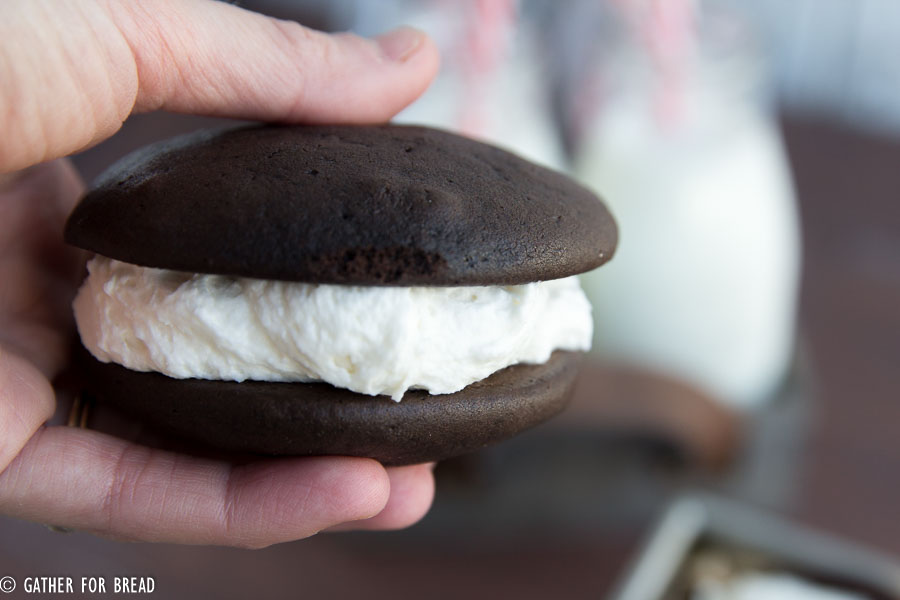 Chocolate Whoopie Pies-