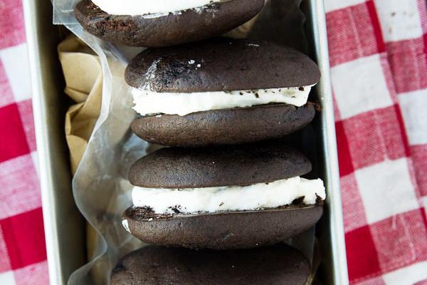 Classic Chocolate Whoopie Pies