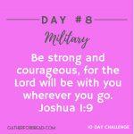 Handwritten Notes of Encouragement Day 8