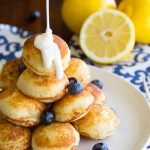 Lemon Blueberry Pancake Bites