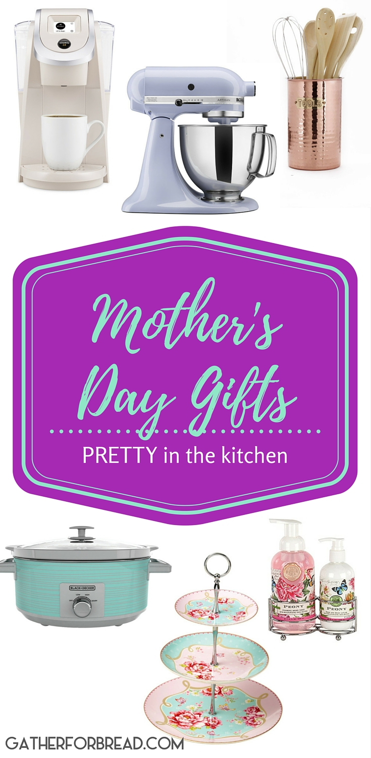 Mothers Day Gifts - Mother' Day Gift Ideas that put the Pretty in Kitchen