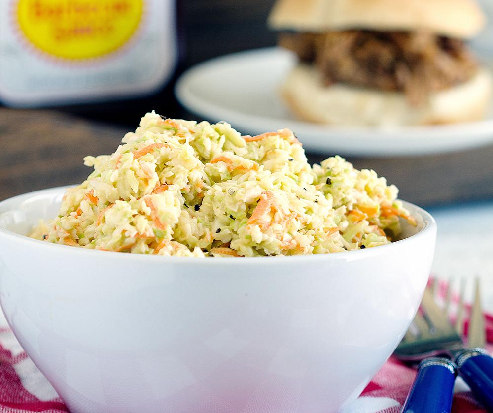 Grandmas Coleslaw - Simple, creamy and a picnic favorite.