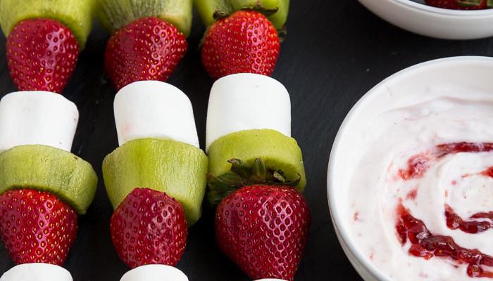Strawberry Kiwi Kabobs