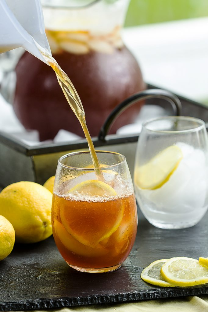Perfect Sweet Tea - Family favorite for generations. Simple homebrewed sweet tea.   gatherforbread.com