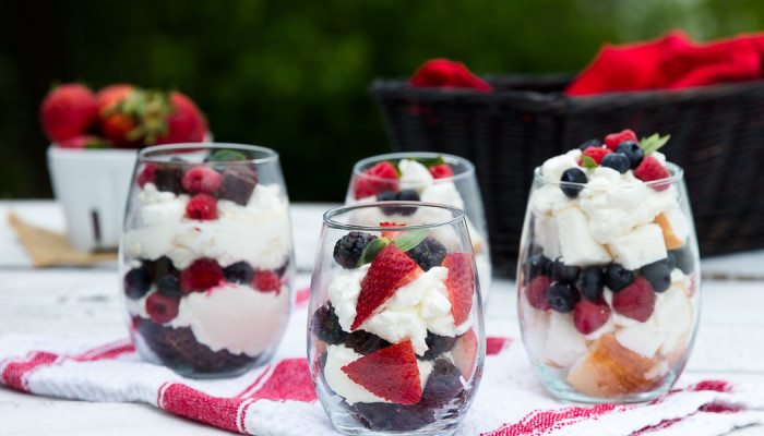 Very Berry Mini Trifles