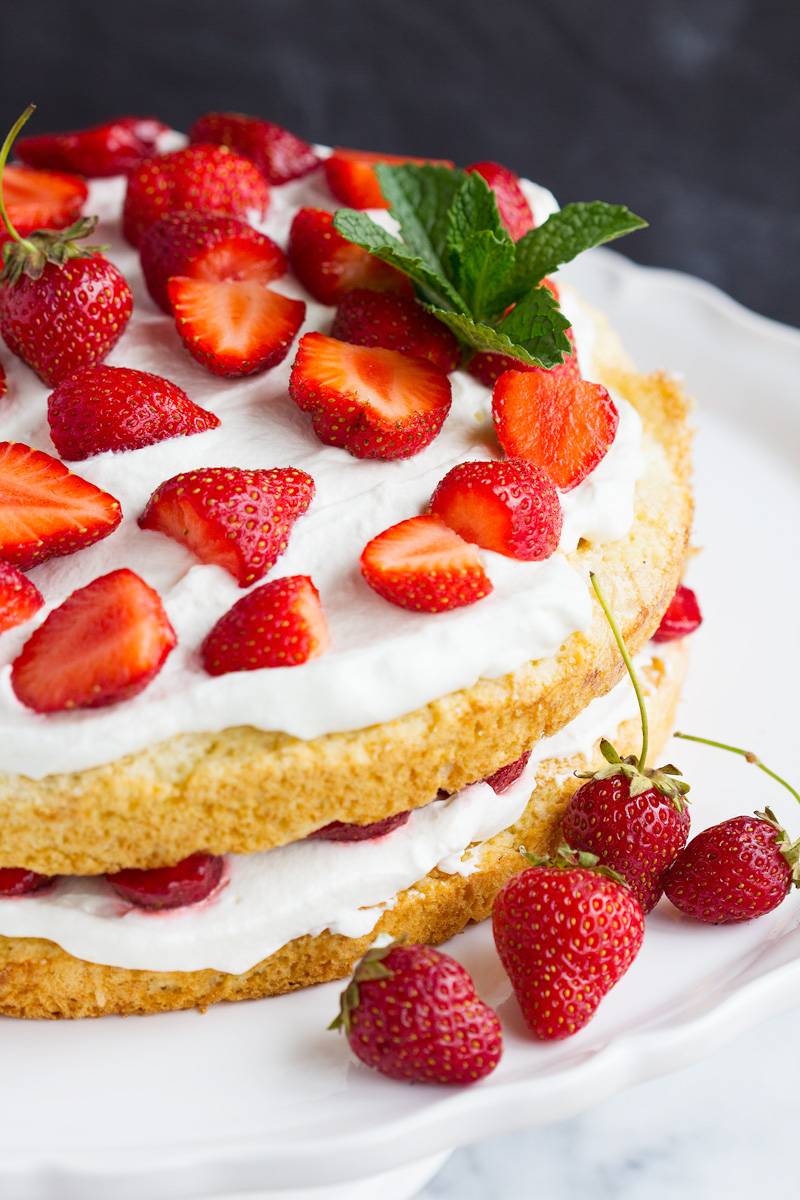 Simple Homemade Strawberry Shortcake – Simple homemade strawberry ...