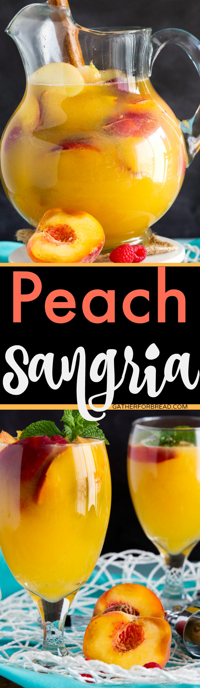 Peach Sangria Gather For Bread