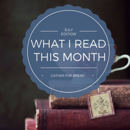 What I Read July Book List