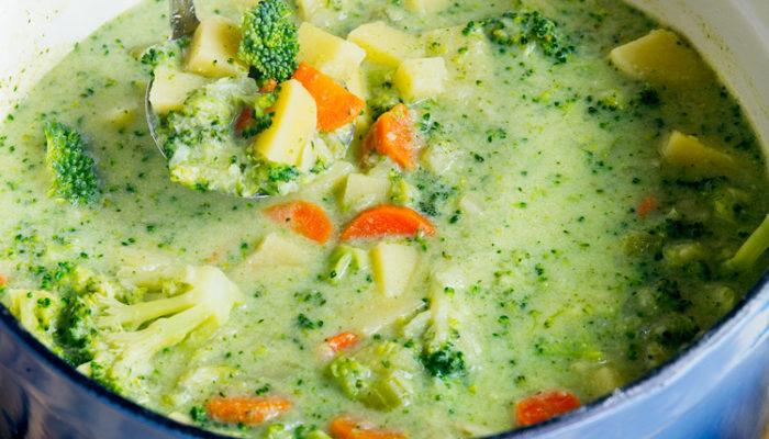 Broccoli Potato Cheese Soup