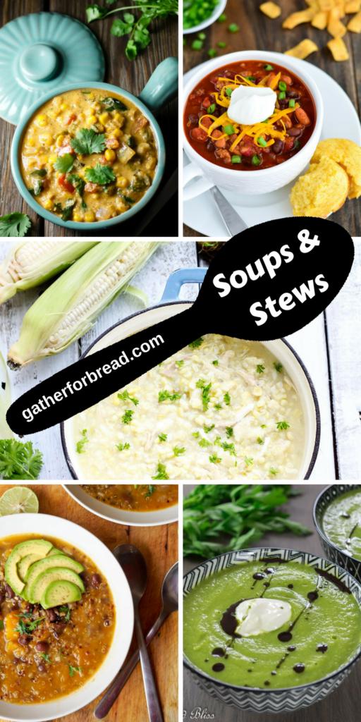 Fall soups & stews roundup.