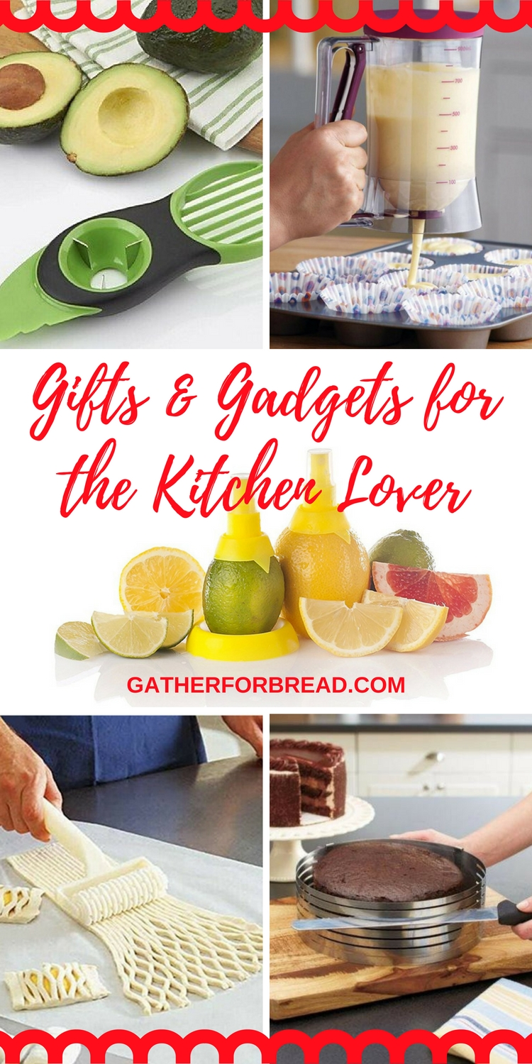 Gifts and gadgets for the kitchen lover gather for bread Gifts for kitchen lovers