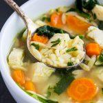 Homemade Chicken Orzo Soup