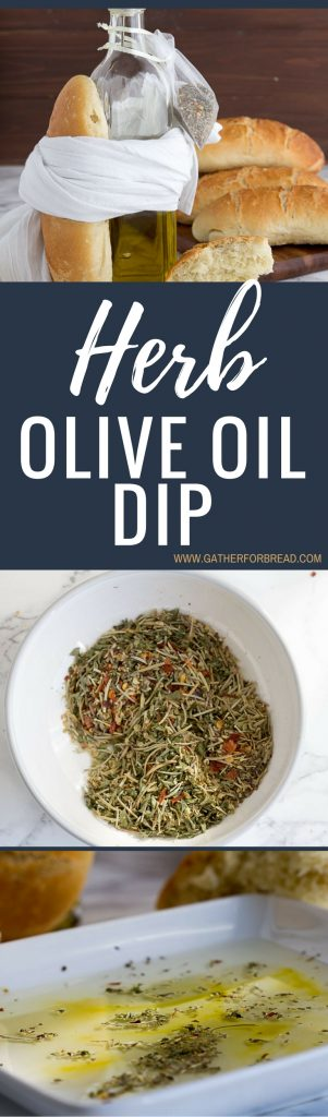 Herb Olive Oil Dip - Simple fresh olive oil prepared with herbs spices ...
