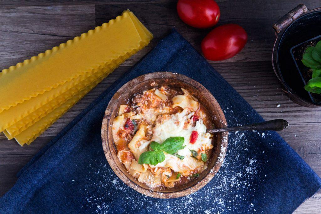 Cheesy Lasagna Soup