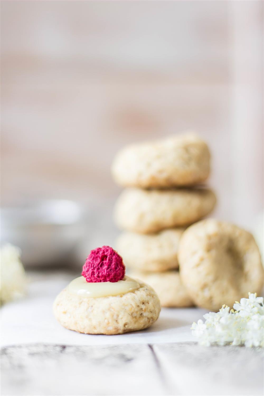 Elderflower Cookie Bites – User Your Noodles