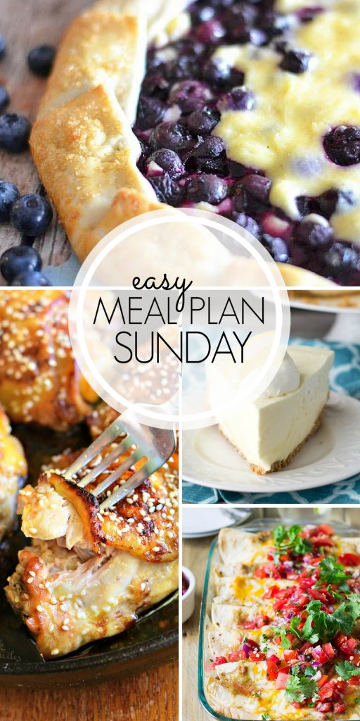 Easy Meal Plan Sunday {Week 103} From Miss in the Kitchen