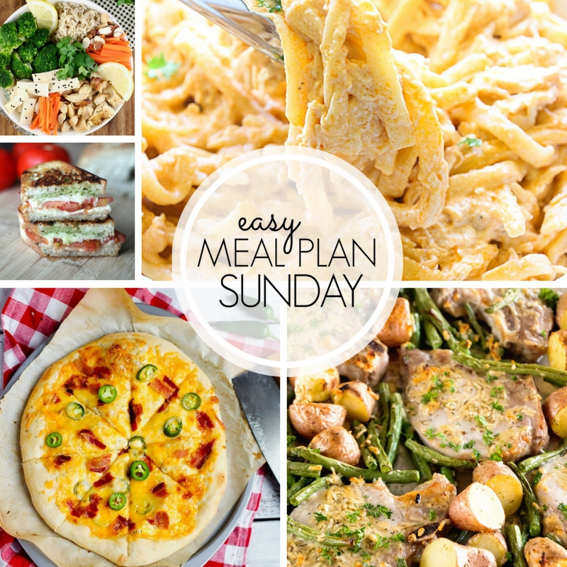 Easy Meal Plan Sunday Week 103