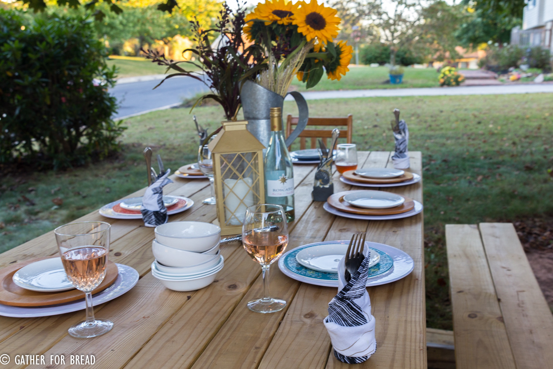 Fall Harvest Dinner Party Menu Ideas Part - 48: Gather For Bread